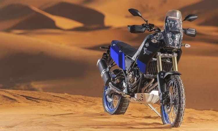 O desenvolvimento da Yamaha Ténéré 700 contou com a contribuição de consagrados pilotos - Yamaha/Divulgação