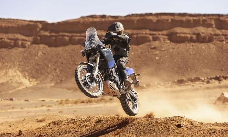 A Ténéré 700 incorporou muitas soluções usadas nas motos de rali de competição - Yamaha/Divulgação