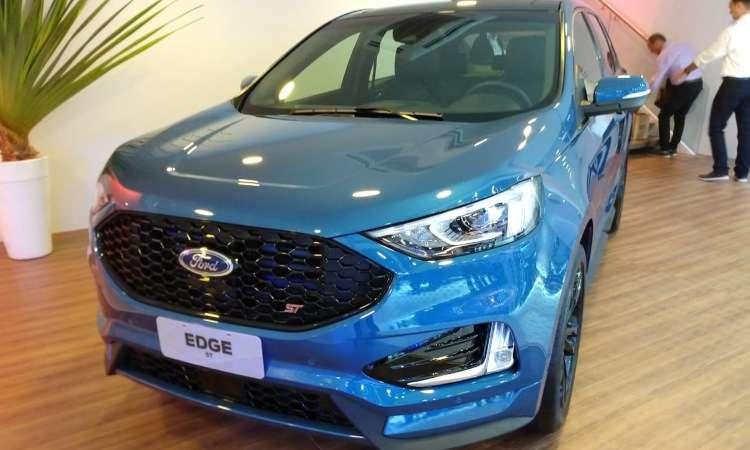 A montadora confirmou também que o Edge ST chegará ao mercado brasileiro em breve - Ford/Divulgação