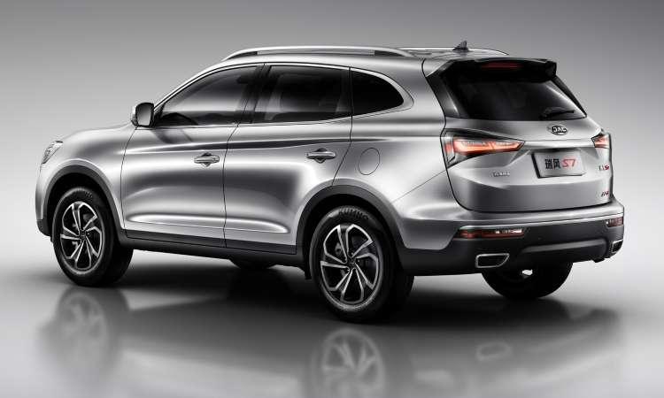 O SUV chinês tem linhas modernas e motor 2.0 turbo de 210cv - JAC/Divulgação