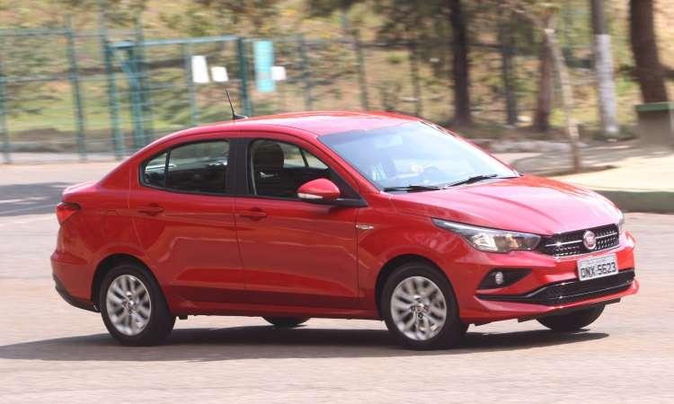 Fiat Cronos tem o preço como atrativo - Jair Amaral/EM/D.A Press