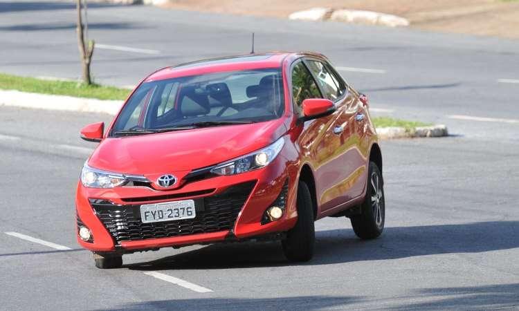 Toyota Yaris em carrocerias hatch e sedã com motores 1.3 e 1.5 - Ramon Lisboa/EM/D.A Press