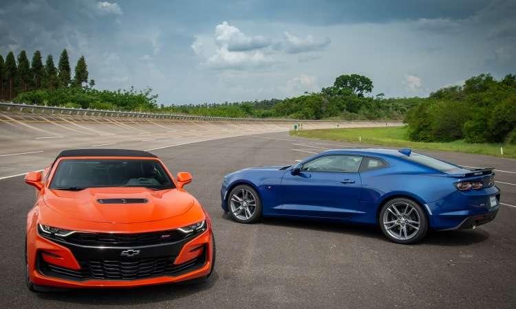 Chevrolet Camaro chegou com mudanças no visual e câmbio automático de 10 marchas - Chevrolet/Divulgação