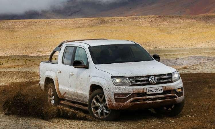 A picape média Volkswagen Amarok ganhou nova motorização V6 - Volkswagen/Divulgação