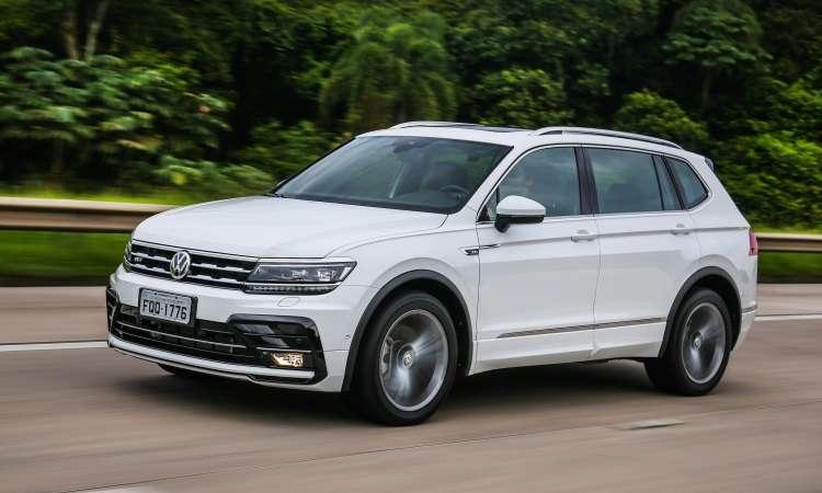 Volkswagen Tiguan passa por reestilização e ganha versão de sete lugares - Volkswagen/Divulgação