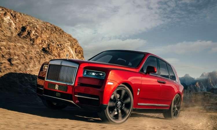 A Rolls-Royce lançou seu primeiro SUV, o Cullinan - Rolls-Royce/Divulgação