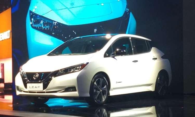 O elétrico Nissan Leaf - Pedro Cerqueira/Em/DA Press