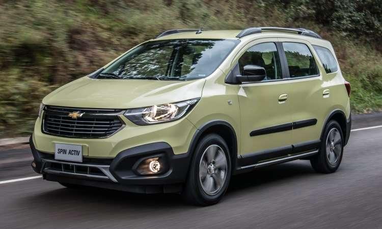 Chevrolet Spin - Chevrolet/Divulgação