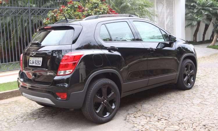 Variados tons de preto destacam as linhas esportivas do SUV compacto - Jair Amaral/EM/DA Press