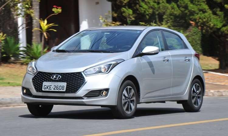 Hyundai HB20 ficou em segundo, com metade das vendas do Onix - Gladyston Rodrigues/EM/D.A Press