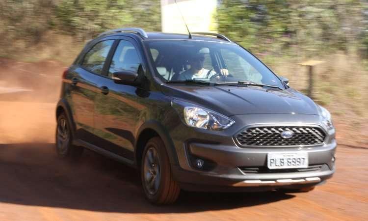 Ford Ka ficou em terceiro, com poucas unidades a menos que o Hyundai HB20 - Edésio Ferreira/EM/D.A Press