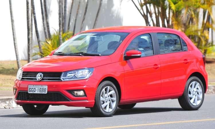 Gol é o modelo mais emplacado da Volkswagen - Gladyston Rodrigues/EM/D.A Press