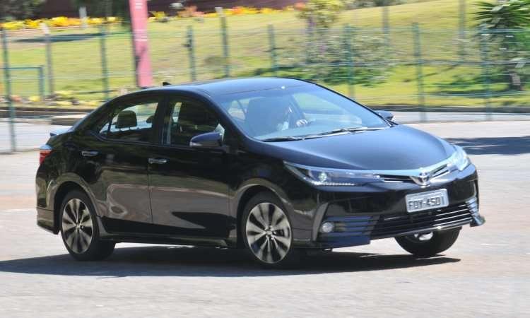 Toyota Corolla é o 10º automóvel mais vendido do país - Jair Amaral/EM/D.A Press