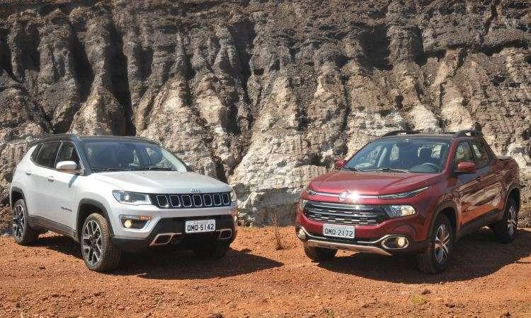 Jeep Compass ficou em nono lugar no geral, e é o SUV mais vendido do Brasil - Jair Amaral/EM/D.A Press