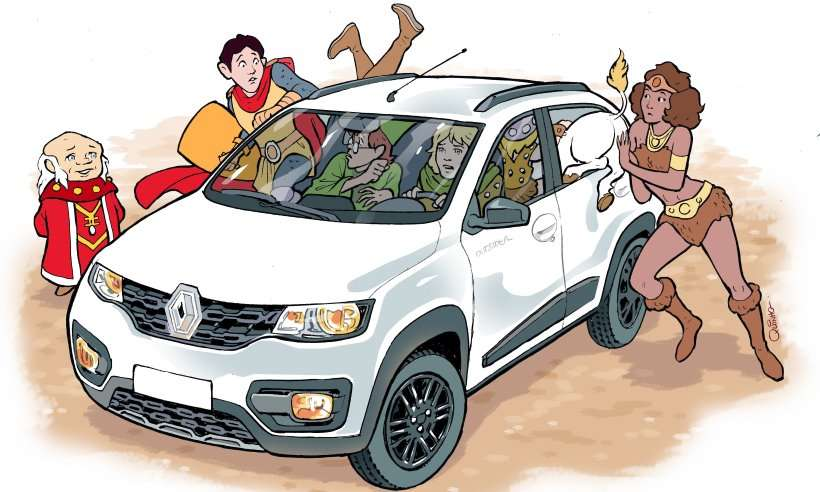 Teste e vídeo: Renault Kwid Outsider é o aventureiro do mundo da fantasia