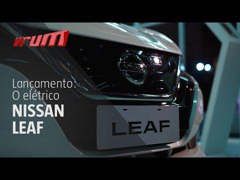 Nissan Leaf - O 100% elétrico da Nissan