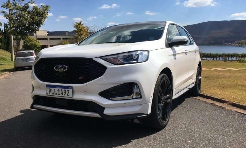 Testamos o Ford Edge ST, SUV de pegada esportiva e bem equipado