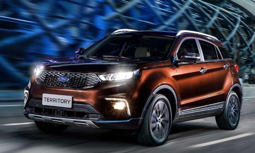 Ford confirma a chegada do SUV médio Territory para 2020, vindo da China