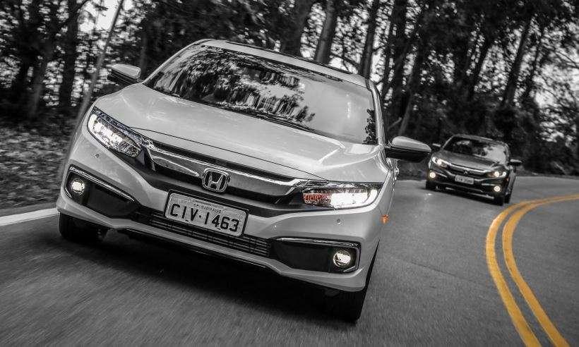Honda Civic ganha reestilização leve, com preços entre R$ 97.900 e R$ 134.900