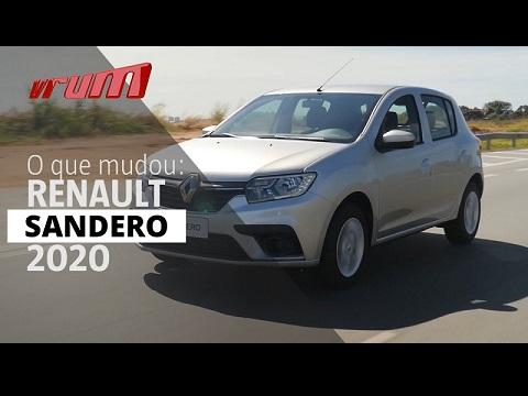 O que mudou no novo Renault Sandero 2020