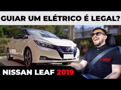 NISSAN LEAF FINALMENTE CHEGA AO BRASIL - É LEGAL GUIAR UM ELÉTRICO?