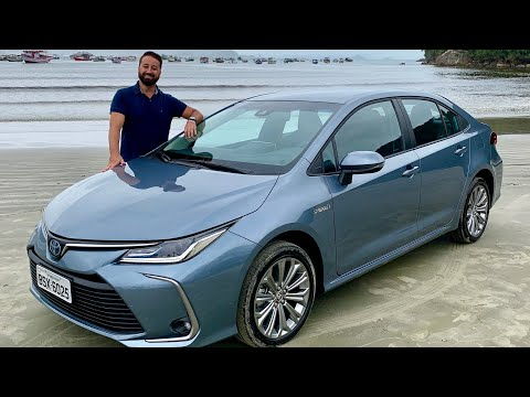 Testamos: Novo Toyota Corolla Altis 2020: versão híbrida promete mais de 20 km/l - Programa Vrum