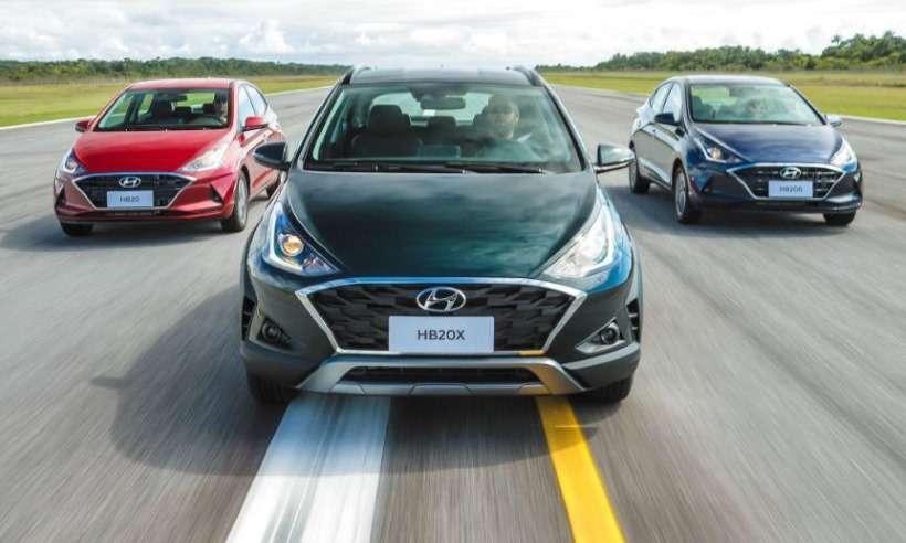 Hyundai apresenta novo HB20 com preços a partir de R$ 46.490 para o hatch e R$ 55.390 para o sedã