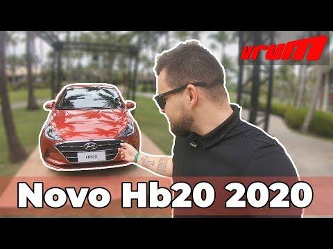NOVO HYUNDAI HB20 2020: MELHOR QUE ONIX?
