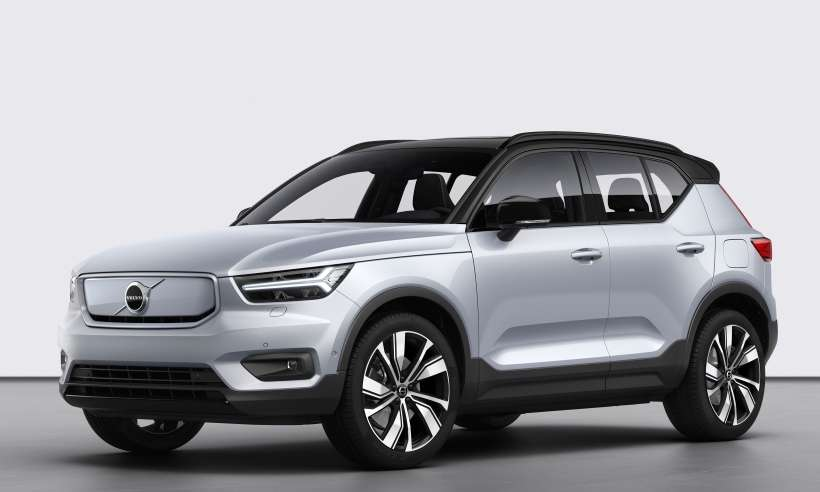 Volvo apresenta o XC40 Recharge, seu primeiro veículo 100% elétrico