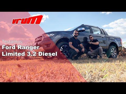 Avaliação Nova Ford Ranger Limited 3.2 Diesel 2019 I Programa Vrum