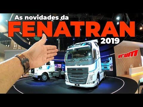 FENATRAN 2019: CONHEÇA TODOS OS CAMINHÕES QUE CHEGAM AO MERCADO