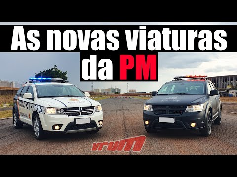 DODGE JOURNEY 2019: AS NOVAS VIATURAS DA PM DO DISTRITO FEDERAL