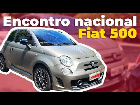 Donos de Fiat 500 viajam o Brasil para encontro em BH