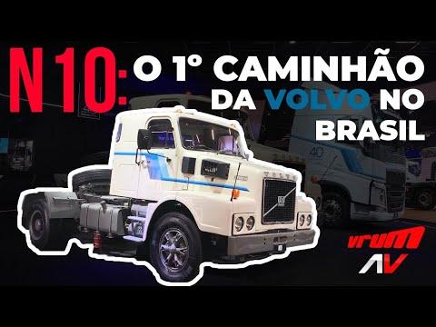 VOLVO N10: CONHEÇA A HISTÓRIA DESSE GUERREIRO DAS ESTRADAS / Colab Vrum Brasília X Auto Vídeos