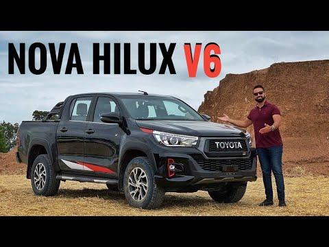 TOYOTA HILUX GANHA MOTOR V6! CONFIRA OS DETALHES EM PRIMEIRA MÃO!