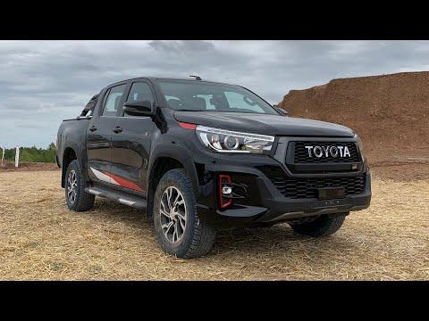 Nova Toyota Hilux V6: tem fôlego para a Vw Amarok?