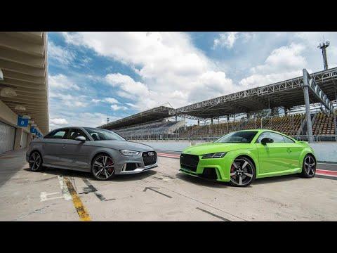 LIGUE O SOM! Aceleramos os novos Audi TT RS e RS 3