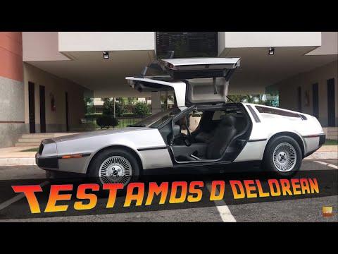 """""""DE VOLTA PARA O FUTURO"""": DIRIGIMOS O DELOREAN DMC-12"""
