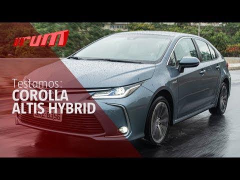 Toyota Corolla Altis Hybrid Vale a pena? Testamos!