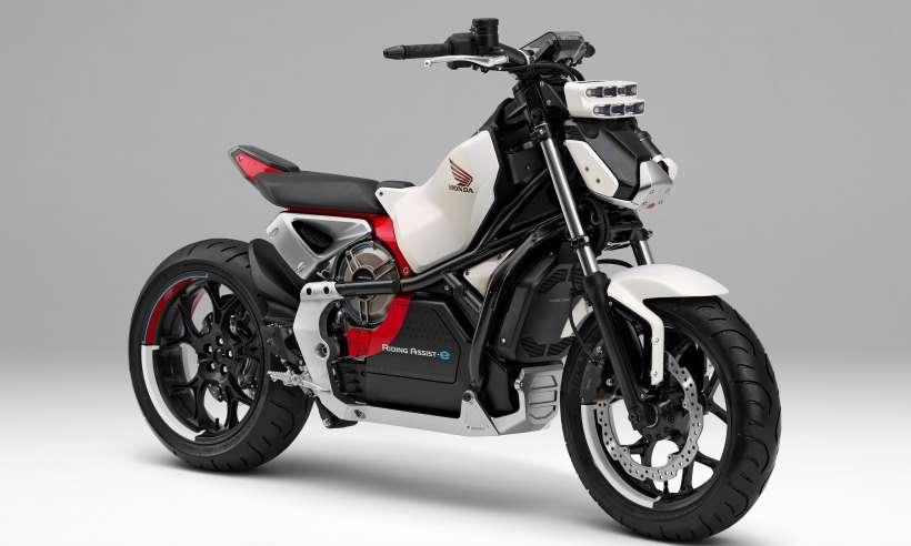 Fabricantes desenvolvem motocicletas autônomas que não caem