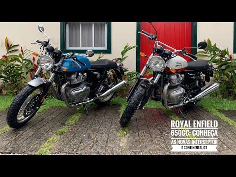INTERCEPTOR E CONTINENTAL GT 650cc: conheça as novas motos da Royal Enfield no Brasil