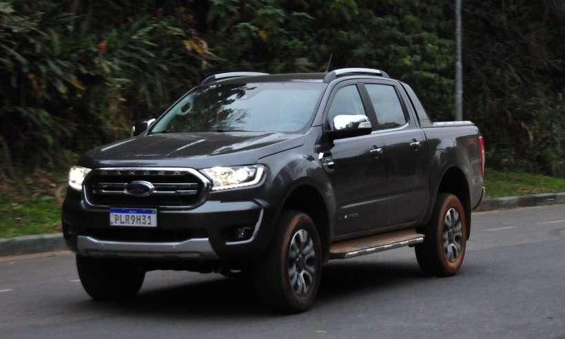 Após reestilização, Ford Ranger Limited 2020 mostra evolução muito discreta