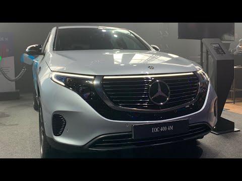 SUV 100% ELÉTRICO COM FORÇA DE V8 BITURBO? Conheça o Mercedes-Benz EQC 400 e novo AMG CLA 35 4M