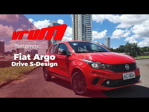 FIAT ARGO DRIVE S-DESIGN 2020: esportivo ou esportivado?