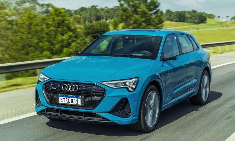 Audi apresenta o e-tron, primeiro elétrico da marca no Brasil