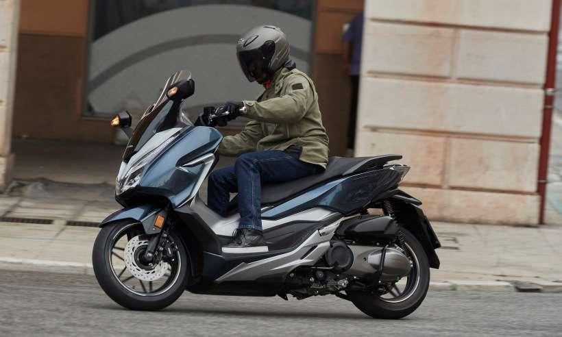 A Honda não confirma, mas o scooter Forza 300 pode chegar este ano