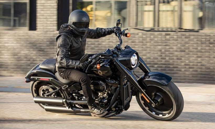 Harley Davidson lança a Fat Boy edição especial de 30 anos