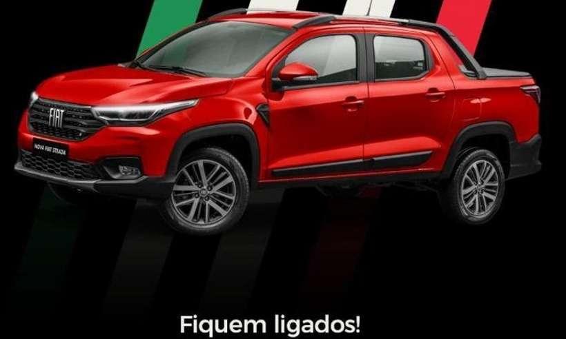 Nova Fiat Strada tem chegada confirmada para o fim do mês