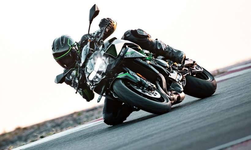 A nova Kawasaki Z H2 é a pelada mais potente da história da marca