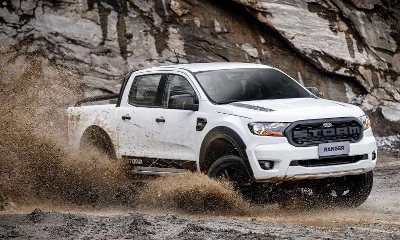 Confira o teste da Ranger Storm, versão aventureira da picape da Ford